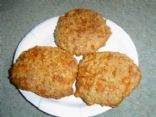 Cheesy Oat Biscuits (Zone)