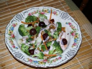 Broccoli Salad with Dressing