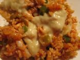 Jalapeno Chicken Fried Rice with Verde
