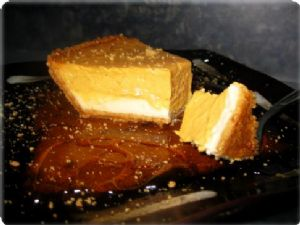 Double-Layer Pumpkin Cheesecake (Vegan)