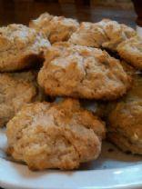 Whole Grain Buttermilk Drop Biscuits