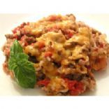 Spanish rice with beef