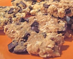 Bean and Oatmeal Chocolate Chip Cookies