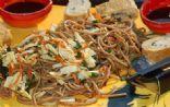 Soy Soba Noodle Salad