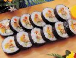 Korean Sushi Roll ~ Easy kimbap