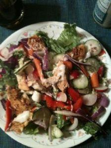 Clementine-Dijon Grilled Chicken Salad