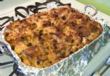 Anne's Bread Pudding (lower fat, lower sugar)