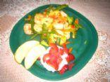 Chicken stir-fry Lunch