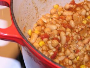 Vegetarian Barley Chili