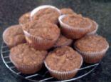 Pineapple, Peach, Pecan Breakfast Muffins