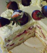 Amjad's Strawberry Shortcake