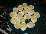 Honey Mustard Deviled Eggs