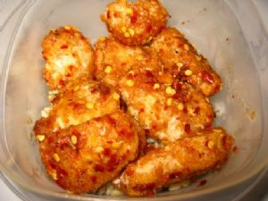 Spicy-Sweet Asian Chicken