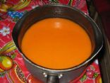 Sweet Potato, Leek and Roasted Red Pepper Soup