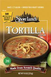 Shore Lunch Tortilla Soup w/Chicken