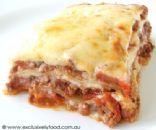 Low Fat Lasagna w/ ground beef