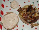 Spicy Chipotle Taco Onion Burger