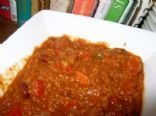 Bulgur Chili