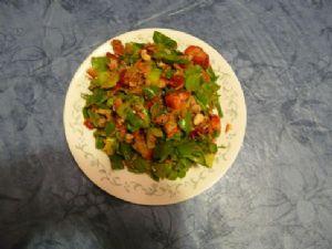 Spinach, Nut, Fruit Salad