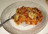 Diabetic Lasagna Primavera