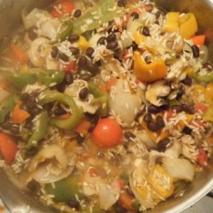 The River Hunter's Vegan Spanish Rice