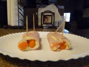 Turkey Carrot Roll Up