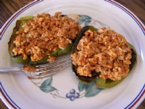 Roasted Un-Stuffed Peppers