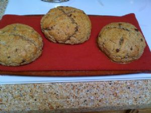 whole wheat high fiber Irish soda bread