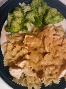 Acadia Roasted Garlic Tuscan Grill Chicken w/ Pasta dish