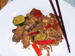 Leftover Szechwan Pork