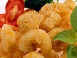 Popcorn Shrimp with Creamy Lemon Dip