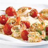 Tarragon Garlic Shrimp Skewers