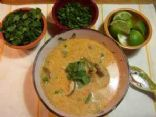 Wicked Thai Chicken Soup (Tom Ka Gai) 1cup = serving
