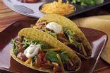 Low Fat Beef & Bean Tacos