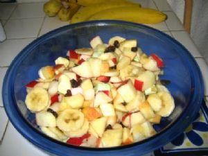 Kel's Zingy Fruit Salad