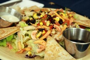 Quesadilla Explosion Salad: SparkRecipes Un-Chained Recipe Contest Finalist