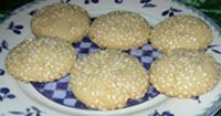 Chinese Sesame Cookie