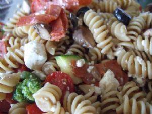 Colorful Italian Pasta Salad