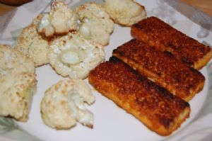 Broiled Barbeque Tofu