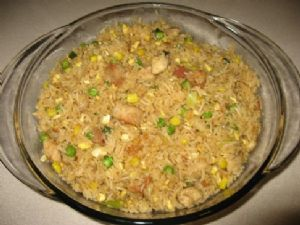 Leftover Fried Rice