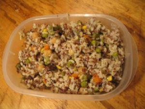 Brown Rice & Quinoa Veggie Risotto