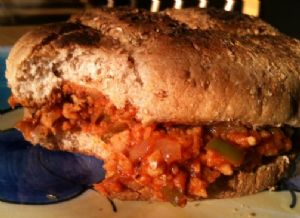 Vegetarian Sloppy Joes (TVP)
