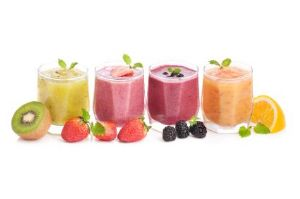 Cottage Cheese Fruit Smoothie
