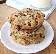 Pretzel-Scotch Cookies