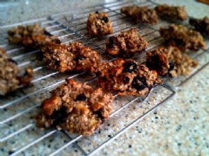 Sugar-Free Blueberry Banana Nut Cookies