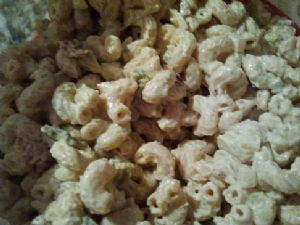 Low Fat Jalapeno Popper Macaroni Salad