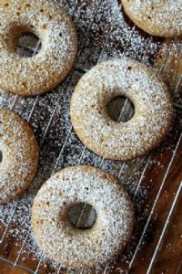 Lemon Buttermilk Baked Donuts