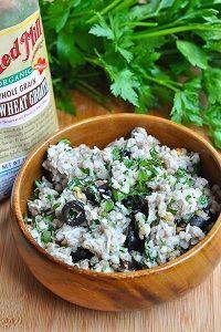 Buckwheat Pesto Salad