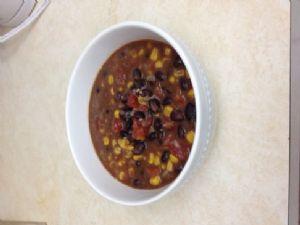 Black Bean Tomato Corn Soup