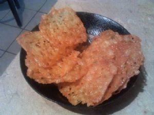 Pepper Jack Crisps (low carb chips)